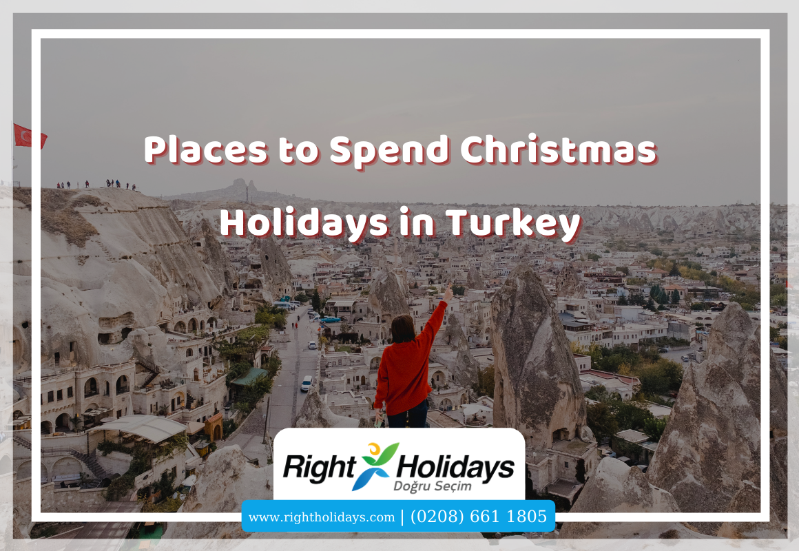 Places to Spend Christmas Holidays in Turkey